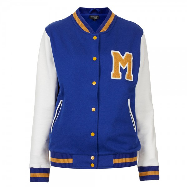 Cotton Varsity Jacket
